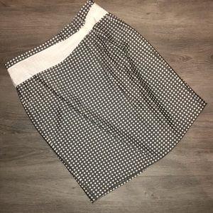 Antonio Melani patterned pencil skirt